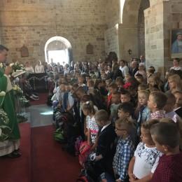 Parafia Kościoła Rzymsko Katolickiego pw. śś. Piotra i Pawła w Kruszwicy - Rozpoczęcie roku szkolnego ZSS nr 1