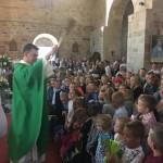 Rozpoczęcie roku szkolnego ZSS nr 1  - Parafia Kościoła Rzymsko Katolickiego pw. śś. Piotra i Pawła w Kruszwicy
