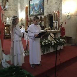 Parafia Kościoła Rzymsko Katolickiego pw. śś. Piotra i Pawła w Kruszwicy - Rocznica Pierwszej Komunii Świętej