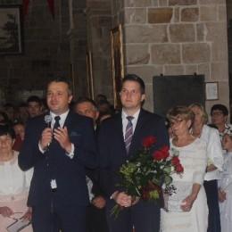 Parafia Kościoła Rzymsko Katolickiego pw. śś. Piotra i Pawła w Kruszwicy - Pożegnanie ks.Łukasza Staniszewskiego