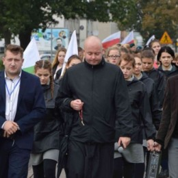 Parafia Kościoła Rzymsko Katolickiego pw. śś. Piotra i Pawła w Kruszwicy - Marsz Patriotyczny Kruszwica - Łagiewniki